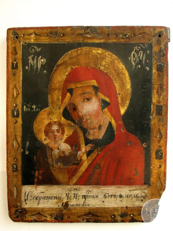 Старовинна ікона Богородиця Казанська