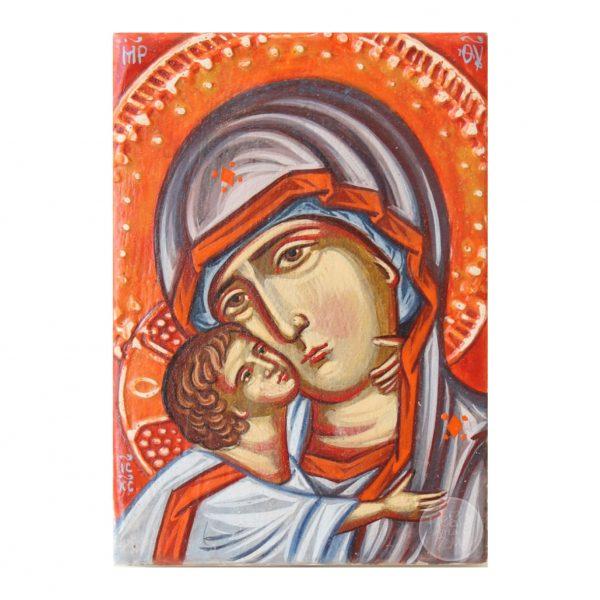 Дорожня ікона. Пресвята Богородиця Вишгородська