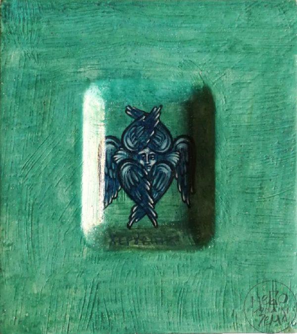 Ікона-мініатюра «Ангел Херувим»